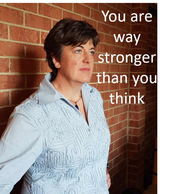 You Are Way Stronger Than You Think! (Click the image)
