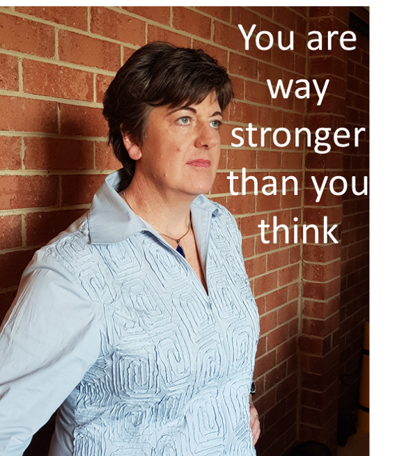 You are way stronger than you think!