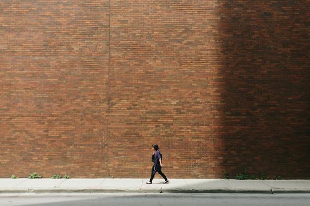 Brick wall women
